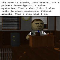 Click to see the full-sized image: 'John Steele: Chapter 1'.