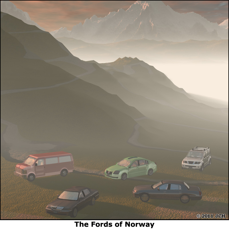 The Far Side- Fords of Norway