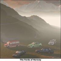 Click to see the full-sized image: 'The Far Side- Fords of Norway'.