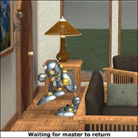 Click to see the full-sized image: 'Waiting for master...'.