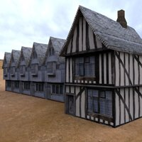 Click to see the full-sized image: 'Medieval Buildings Village 2'.