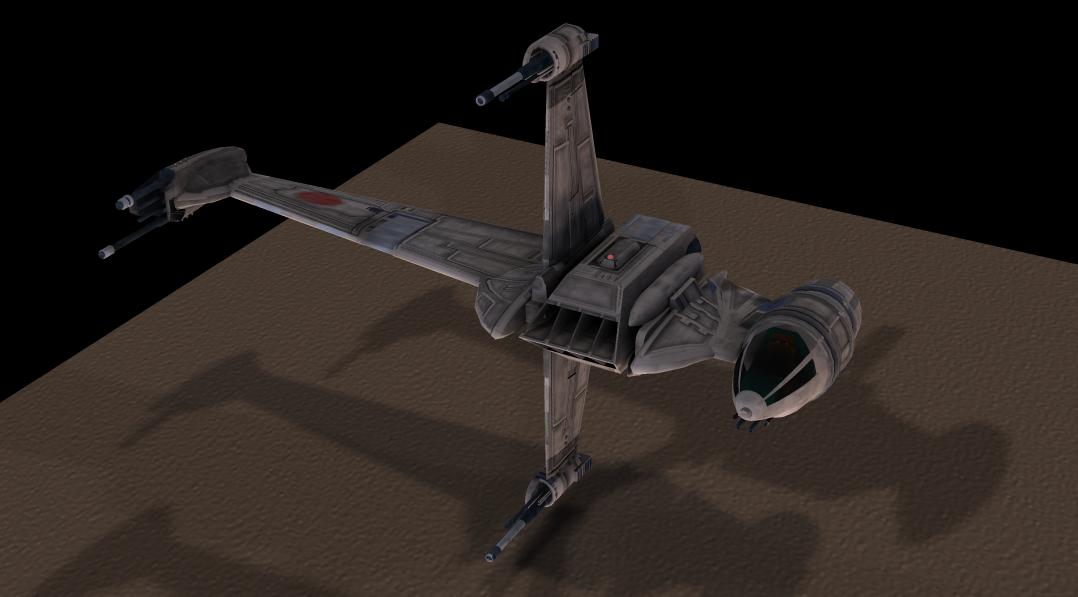 B-Wing Test: Test of the B-Wing released here 