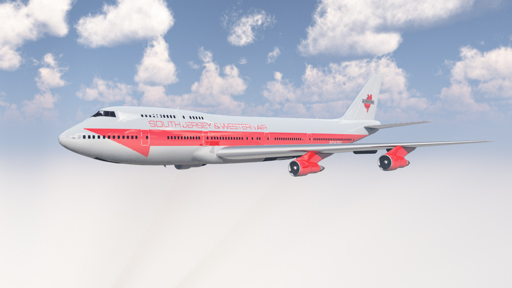 South Jersey and Western Aur: An aircraft to go with the South Jersey and Western Railroad.