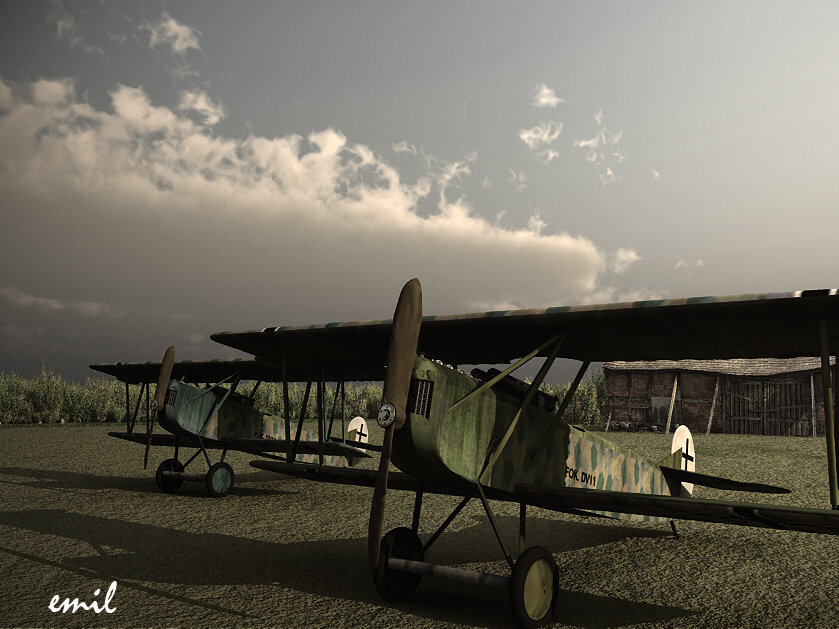1918: Just purchased the Fokker DVII from Gunpoint 3D.