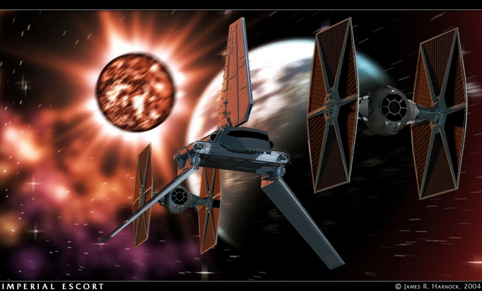 Imperial Escort: Poser5, Photoshop7.
