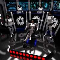 Click to see the full-sized image: 'Clone Troopers on the Bridge'.