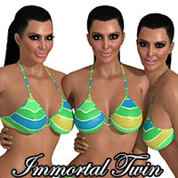 Click to see the full-sized image: 'Immortal Twin 29 - 3 Girls'.