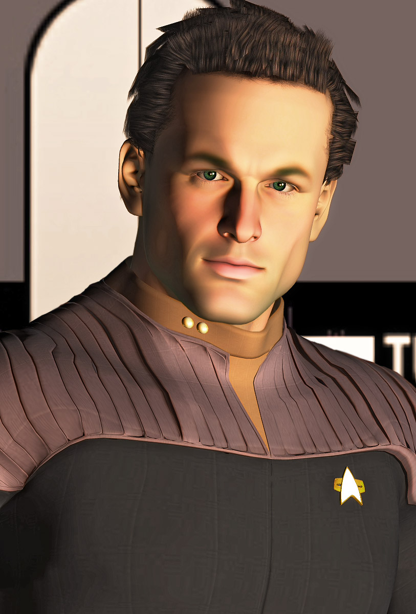 To Boldly Go: A little Trek action for ya .....