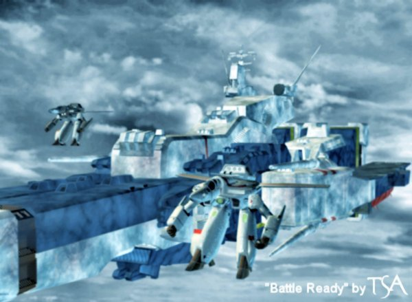 Battle Ready: Created using Poser and a host of other art related programs...