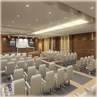 Click to see the full-sized image: 'Conference Hall'.