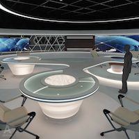 Click to see the full-sized image: 'Virtual  News Studio 028'.