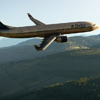 Boeing 737 Fly Over