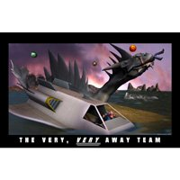 Click to see the full-sized image: 'The Very, Very Away Team'.
