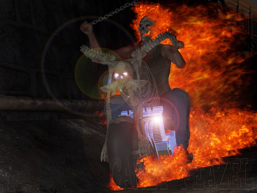 Ghost Rider: My version of