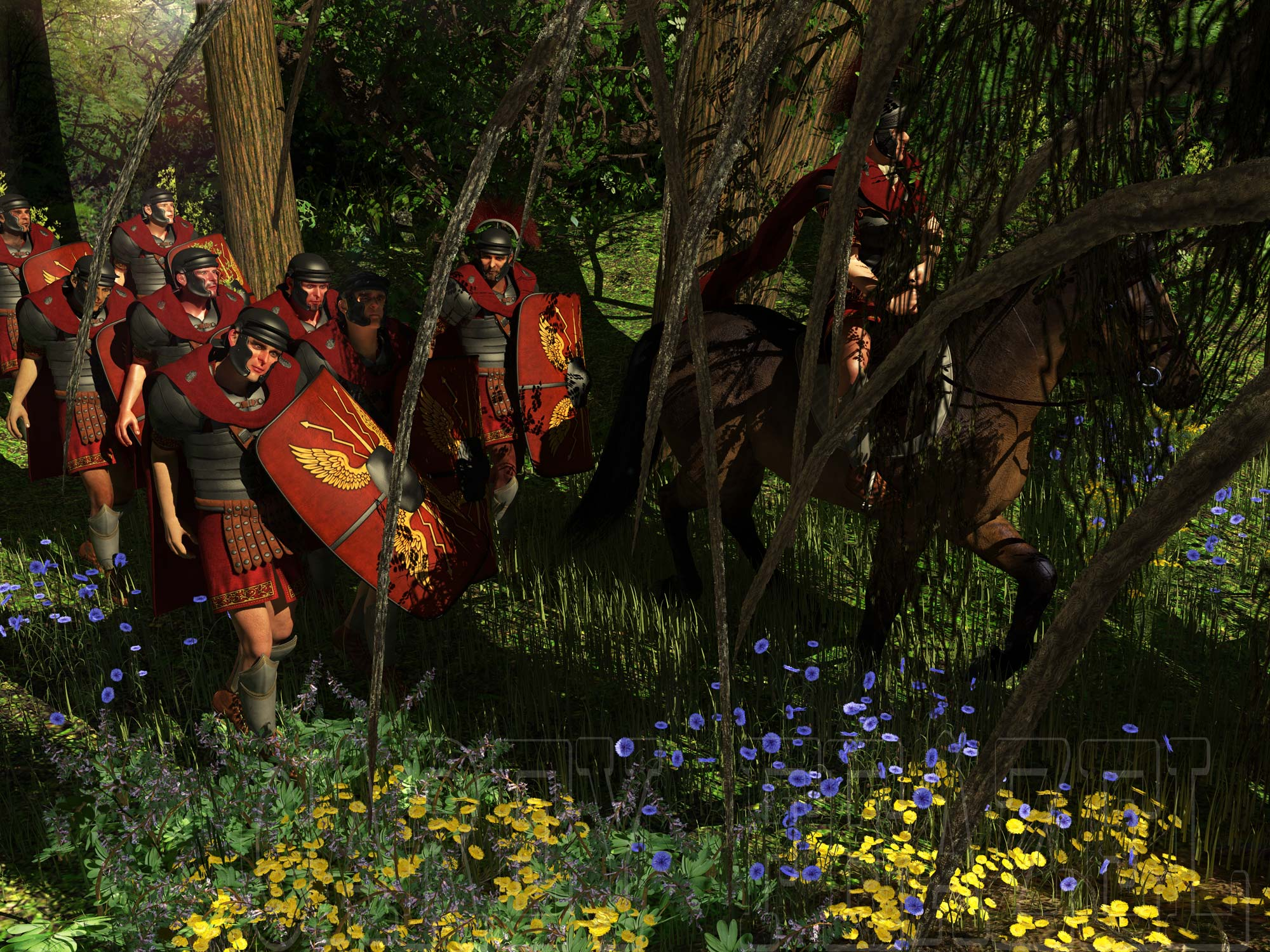 Marching Orders: Around the year 900AD the Germanic tribes defeated two legions of the Roman army and forever changed the face of history...