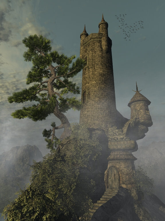 Wizard Tower: Wizard Tower made using Dark_Anvils great Wizard Tower Model.