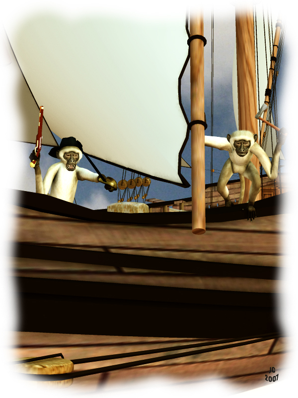 Pirate Monkeys: