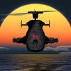 Click to see the full-sized image: 'Airwolf by Night'.