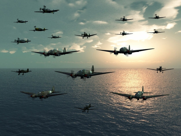 Eagle Day: August, 13th 1940, and the massed ranks of the German Luftwaffe cross the English coast for the start of what will be become known as