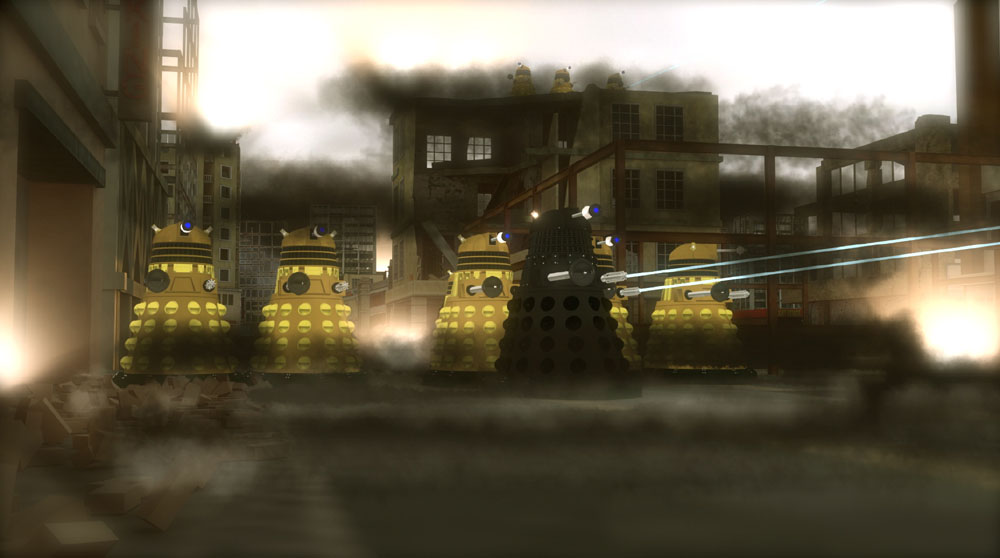 Dalek Invasion: The Daleks invade the city!