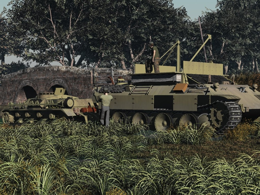 Panzer Towing: Vue 7 complete with StugIV available now.