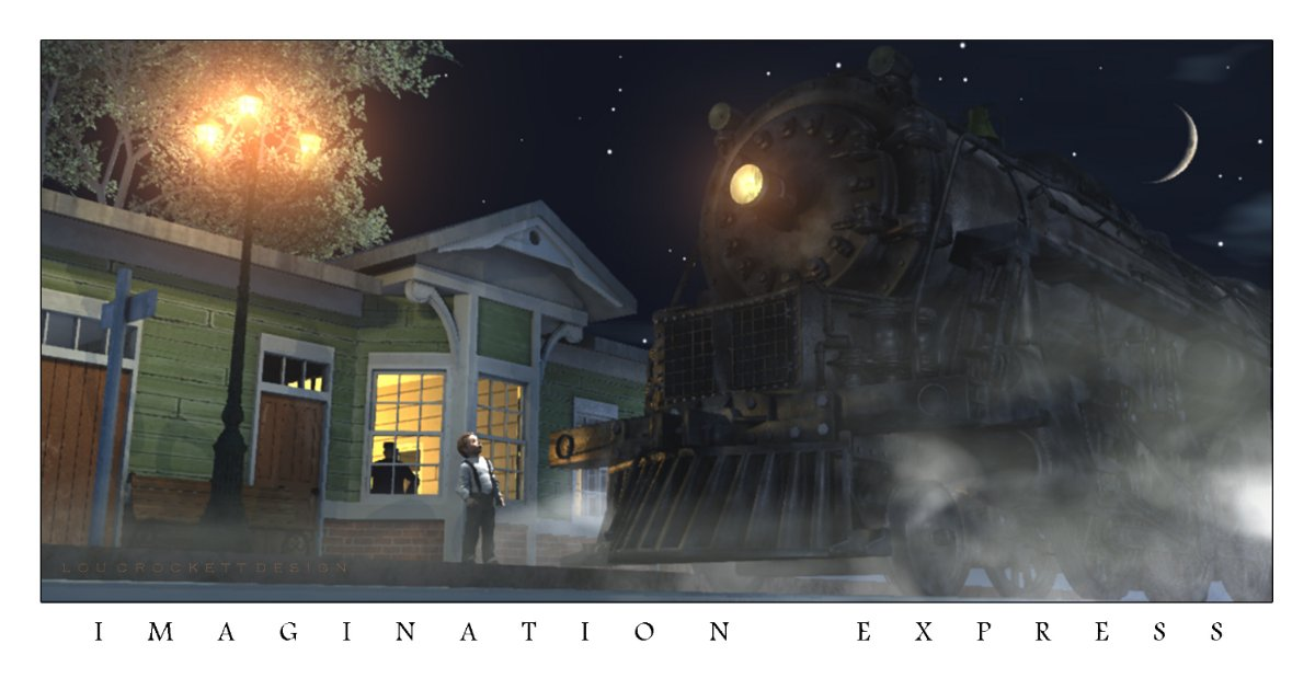 Imagination Express: Another image using VP products. Rendered in Vue. 6.