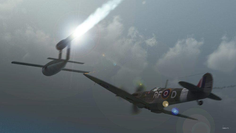 Risky Business: Created in Vue 6 using Spitfire and V1 models. Some background information:
