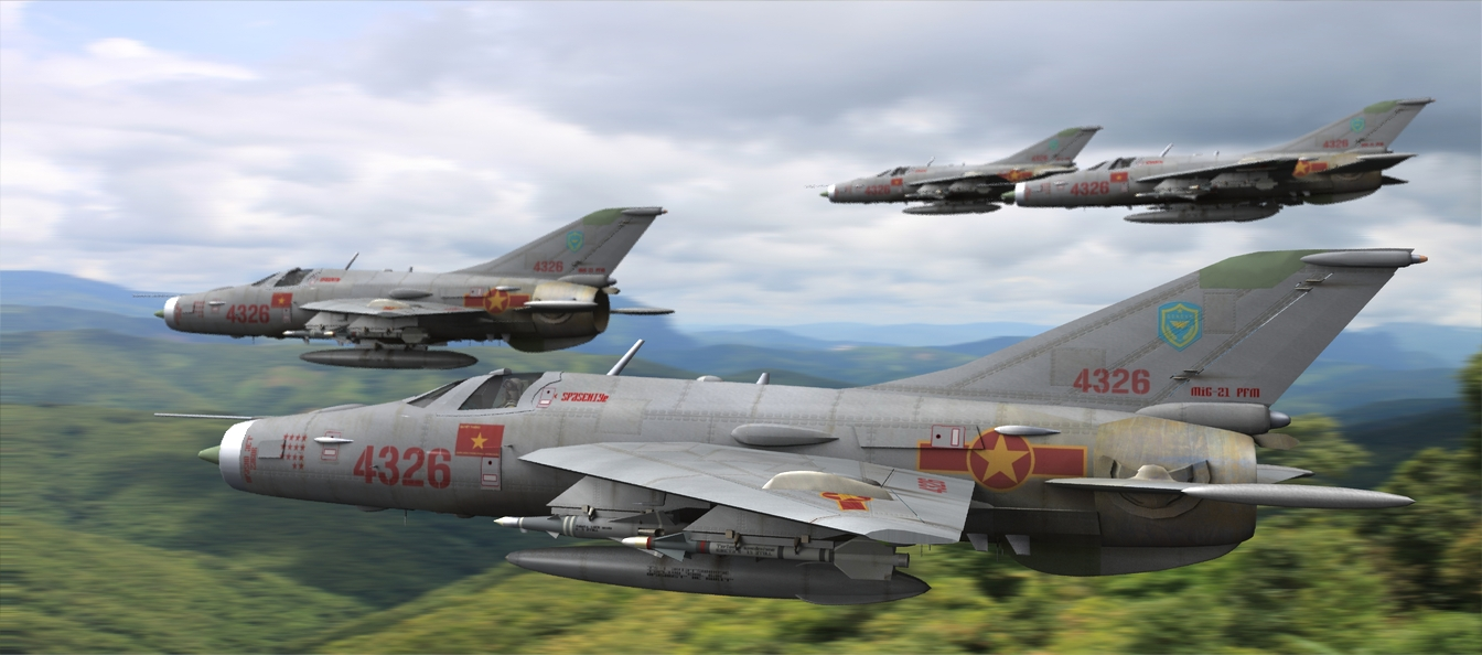 MiG`s Low!: In `Nam the typical tactic employed by MiG pilots was to stay low while being directed on to the target intercept, where they`d be hard to see visually below cloud cover and lost in the terrain to both radar and sight, and then