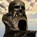 Skull Rock Mountain (for Poser)