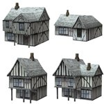 Low Polygon Medieval Buildings 2 (for Poser)