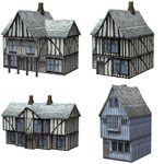 Click to see information about the 'Low Polygon Medieval Buildings 3 (for Poser)'.