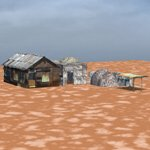 Shanty Town Buildings 1: Set 2 (for Poser)