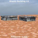 Shanty Town Buildings 1: Set 4 (for Poser)