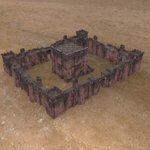 Click to see information about the 'Fortress Keep Construction Set (for Poser)'.