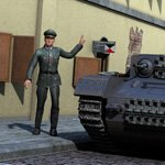 German Officer (M4) (for Poser)