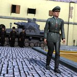 Click to see information about the 'German Officer (M4) (for Poser)'.