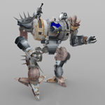 Juggar MACH Mech Robot (for Poser)