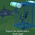 Click to see information about the 'Shark Cage (for Poser)'.