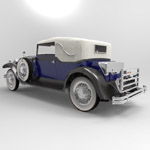Packard Car 1930 (for 3D Studio Max)