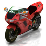 Click to see information about the 'Honda NR (for Poser)'.