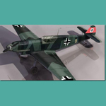 Click to see information about the 'Messerschmitt BF 109 B (for 3D Studio Max)'.