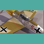 Click to see information about the 'Messerschmitt BF 109 E (for 3D Studio Max)'.