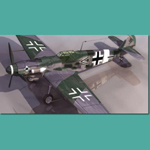 Click to see information about the 'Messerschmitt BF 109 G (for 3D Studio Max)'.