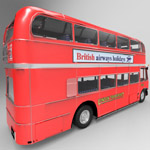 Bus AEC London (for 3D Studio Max)