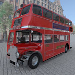 Click to see information about the 'Bus AEC London (for 3D Studio Max)'.