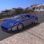 Bugatti EB 110 (for 3D Studio Max)