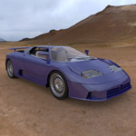 Click to see information about the 'Bugatti EB 110 (for 3D Studio Max)'.