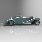 Mercedes Benz 540K (for 3D Studio Max)