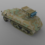 Panzerwerfer 42 (for 3D Studio Max)