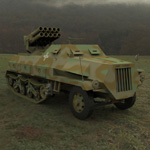 Click to see information about the 'Panzerwerfer 42 (for 3D Studio Max)'.